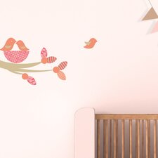 Nesting Birds Wall Decal
