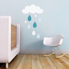 Rain Drops Wall Decal