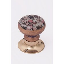 Thoresbury Avenu Decorative Flower Door Knob (Set of 2)