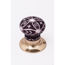 Star Design Door Knob (Set of 2)