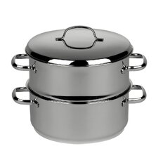 Cristall 2 Tier Steamer with Lid