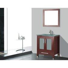 "Amara 24"" Single Bathroom Vanity Set with Mirror"