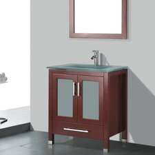 "Amara 30"" Single Bathroom Vanity Set with Mirror"