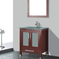 "Amara 36"" Single Bathroom Vanity Set with Mirror"
