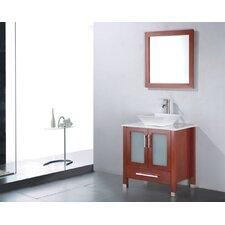 "Adrian 36"" Single Bathroom Vanity Set with Mirror"
