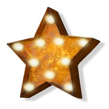 Iconics Star Steel Marquee Sign Wall Décor