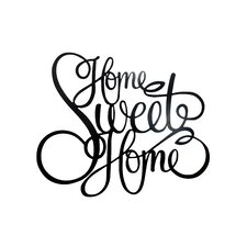 Legacy Laser Engraved Home Sweet Home Wall Décor