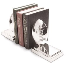 Rugby Ball Bookends (Set of 2)