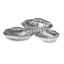 Seashore 3 Piece Shell Candle Holder
