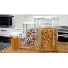 3-Piece Single Cereal Container Set