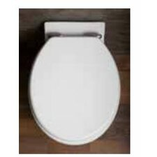 Soft Close High Gloss MDF Elongated Toilet Seat