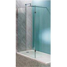 30cm x 30cm x 200cm Hinged Flipper Wet Room Panel