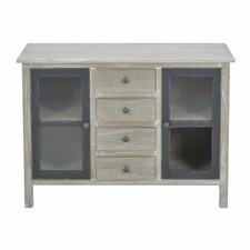 2 Door 4 Drawer Cabinet