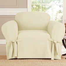 Arm Chair Box Cushion Slipcover