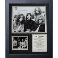 Led Zeppelin Early Years Framed Memorabilia
