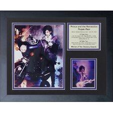 Prince Rain Framed Memorabilia