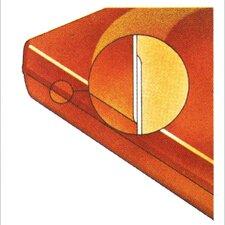 "4.5"" Softside Dreamweaver 3-D Lap Shallow Fill Waterbed Replacement Mattress"