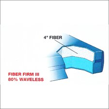 "Dreamweaver The Ultimate 9"" Fiber Firm 3 Waterbed Mattress"