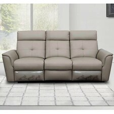Noci Leather Reclining Sofa