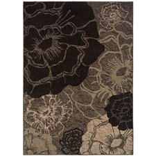Palermo Grey/Black Area Rug