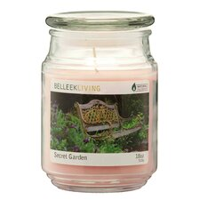 Secret Garden Jar Candle