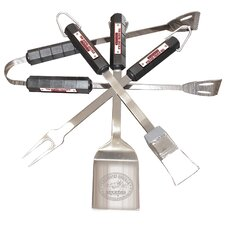 Busted Knuckle Garage 4 Piece BBQ Utensil Set