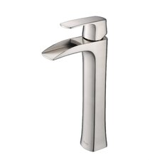 Carrion Single Handle Vessel Bathroom Faucet