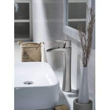 Carrion Single Handle Vessel Bathroom Faucet
