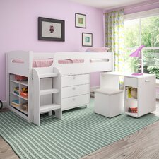 Madison Twin Loft Bed with Storage