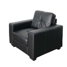 Club Bonded Leather Arm Chair