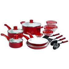 Aluminum 17 Piece Cookware Set