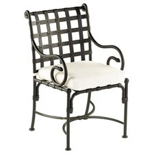 Kross Dining Arm Chair with Cushion