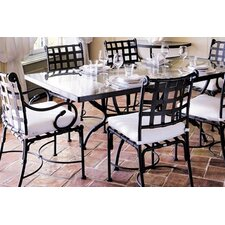 Kross 7 Piece Dining Set with Cushion