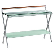 Oskar Console with Glass Top