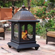 Cobbler Steel Outdoor Fireplace