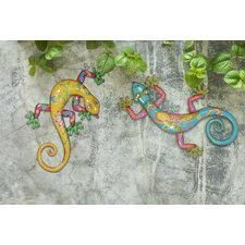 Gecko Outdoor Wall Decor