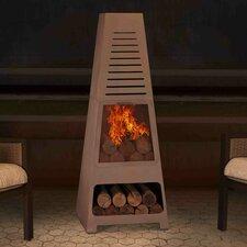 Steel Wood Burning Chiminea
