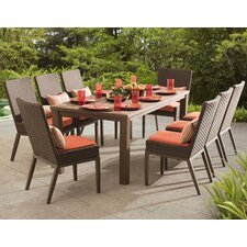 Antigua 9 Piece Dining Set with Cushions