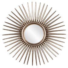 Cascade Leaf Starburst Wall Mirror