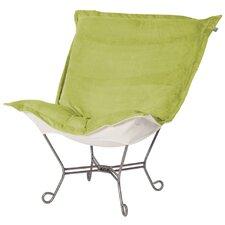 Puff Scroll Lounge Chair