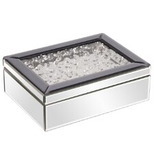 """12"""" Mirrored Jewelry Box"""