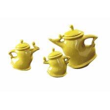 3 Piece Teapot Set