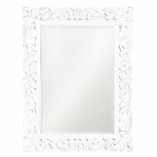 Chateau Mirror in White