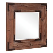 Caldwell Rectangle Wood Mirror