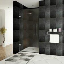"""Ultra-E 72"""" x 36"""" Hinged Glass Shower Door"""