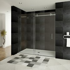 "Ultra-B 76"" x 48"" Sliding Glass Shower Door"