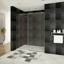 """Ultra-C 76"""" x 48  Sliding High Glass Shower Door"""