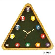 Geometric Shape Pool Quartz Clock