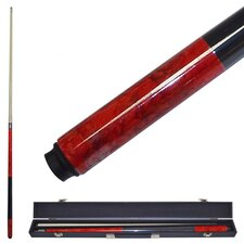 Marble Graphite Billiards Cue in Red