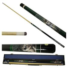 Wolf Pool Stick in Gray